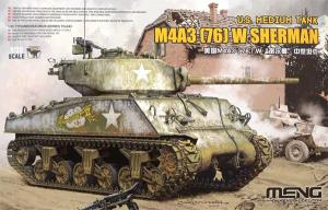 Meng Model TS-043 M4A3 (76) W Sherman 1/35