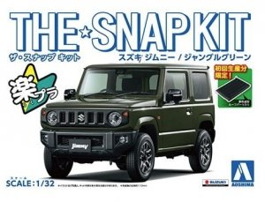 Aoshima 05777 The Snap Kit Suzuki Jimny / Green 1/32