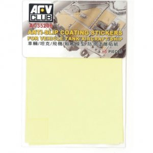 AFV Club AC35206 Anti-Slip Coation Stickers for Vehicle/Tank/Aircraft/Ship 1/35
