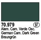 Vallejo 70979 German Cam. Dark Green (97)