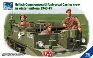 Riich Models RV35028 British & Commonwealth Universal Carrier crew in winter uniform 1943-1945 1/35