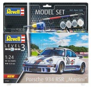 Revell 67685 Porsche 934 RSR Martini - zestaw modelarski 1/24