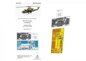 Microdesign MD 032215 AH-1G Cobra interior detail set ICM 1/32