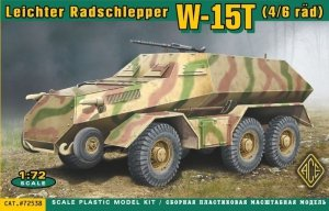 ACE 72538 W-15T Leichter Radschlepper (1:72)