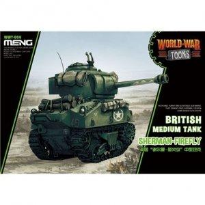 Meng Model WWT-008 World War Toons Sherman-Firefly