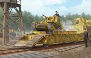 Trumpeter 01508 German IIWW Panzertragerwagen (1:35)
