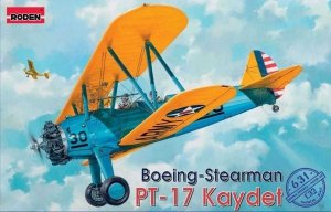 Roden 631 Boeing-Stearman PT-17 Kaydet 1/32