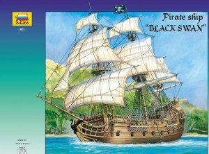 Zvezda 9031 Pirate Ship Black Swan 1/72
