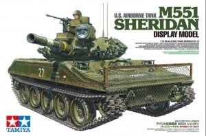 Tamiya 36213 M551 Sheridan Display Only Kit 1/16