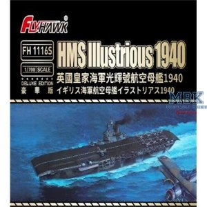 FlyHawk Model FH1116S HMS Illustrious 1940 Deluxe Edition 1/700