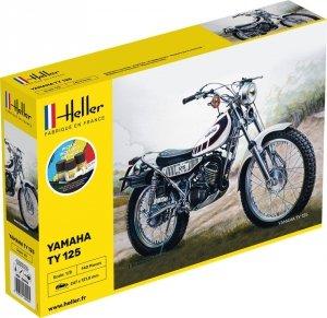 Heller 56902 Yamaha TY 125 - Starter Kit 1/8