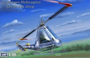 AMP 48007 American Helicopter XH-26 Jet Jeep 1/48