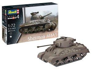 Revell 03290 Sherman M4A1 1/72