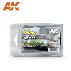 AK Interactive AK 8091 SNOW EFFECTS (RALLY SET)