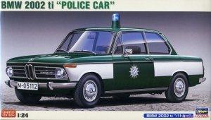 Hasegawa 20478 BMW 2002 ti Police Car 1/24