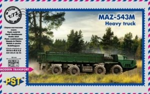 PST 72100 MAZ-543M Heavy Truck 1/72