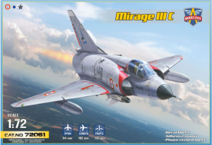 Modelsvit 72061 Mirage III C 1/72