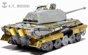 E.T. Model E72-021 WWII German King Tiger/Jagdtiger Fender & Schurzen For DRAGON Kit 1/72
