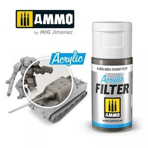 Ammo of Mig 0804 ACRYLIC FILTER Starship Filth 15 ml