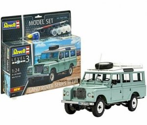 Revell 67047 Land Rover Series III - Model Set 1/24