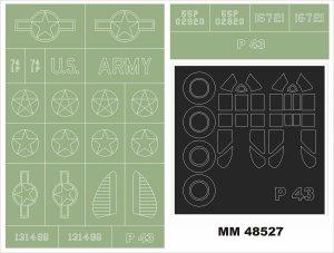 Montex MM48527 P-43 Lancer 1/48