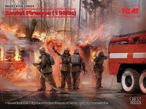 ICM 35623 Soviet Firemen (1980's) 1/35