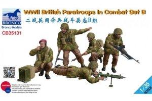 Bronco CB35131 WWII British Paratroops In Combat Set B 1/35