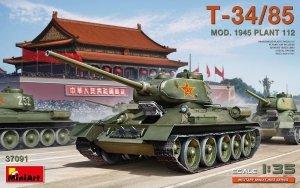 MiniArt 37091 T-34/85 Mod. 1945. Plant 112 1/35