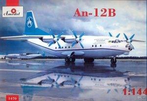 A-Model 01470 ANTONOV AN-12B 1:144
