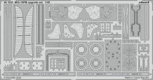 Eduard 481032 MiG-19PM upgrade set 1/48 EDUARD