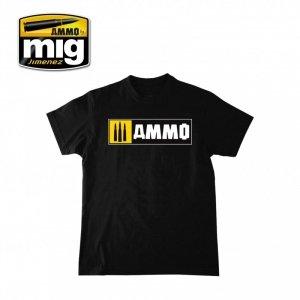 AMMO of Mig Jimenez 8023XL AMMO EASY LOGO T-SHIRT ( rozmiar , size XL)