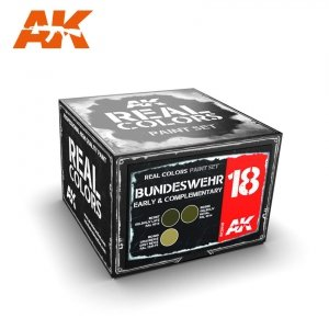 AK Interactive RCS018 BUNDESWEHR EARLY & COMPLEMENTARY (3x10ml)