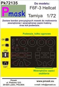 P-Mask PK72135 F6F-3 Hellcat (Tamiya) 1/72