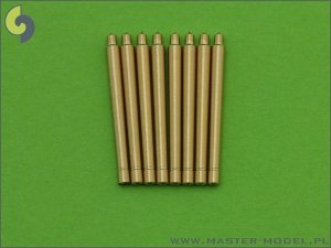 Master SM-700-030 France 380 mm/45 (14.96in) Model 1935 barrels - for turrets with blastbags (8pcs)