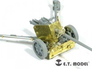 E.T. Model E72-025 WWII German 7.5cm Pak 40 Anti-Tank Gun For DRAGON Kit 1/72