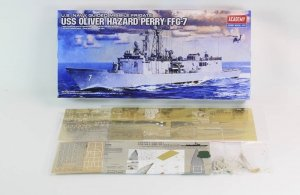 Pontos 36019F1 USS FFG Oliver Hazard Perry Class Long Hull Detail Up Set with Kit 1/350