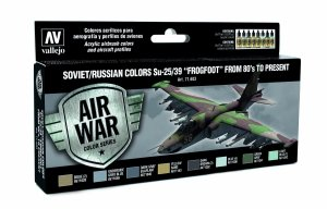 Vallejo 71603 Soviet / Russian colors Su-25/39 Frogfoot from 80 to present 8x17 ml