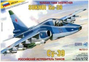 Zvezda 7217 Russian Tank Destroyer Sukhoi Su-39 1/72
