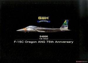 Great Wall Hobby S4806 F-15C Oregon ANG 75th Annversary 1/48