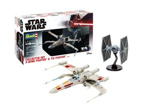 Revell 06054 X-Wing Fighter + TIE Fighter Collector Set 1/65, 1/57
