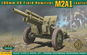 ACE 72530 US 105mm Howitzer M2A1 (early production series) 1:72