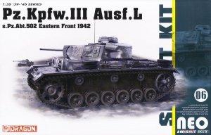 Dragon 6957 Pz.Kpfw.III Ausf.L s.Pz.Abt.502 Leningrad 1942 1/35