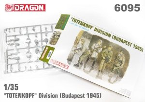 Dragon 6095 TOTENKOPF DIVISION (BUDAPEST 1945) 1/35