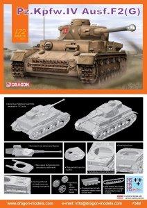 Dragon 7549 Pz.Kpfw.IV Ausf.F2(G) (1:72)