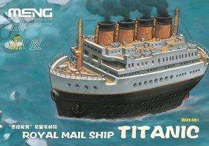 Meng Model MOE-001 Royal Mail Ship Titanic