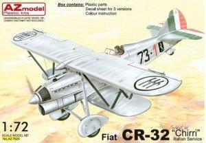 AZmodel AZ7620 Fiat CR-32 Chirri Italian service 1/72