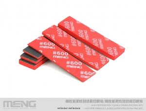Meng Model MTS-042b High Performance Flexible Sandpaper ( Extra Fine Refill Pack/1200 ) ( zestaw do szlifowania - uzupełnienie )