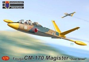 """Kovozavody Prostejov KPM0243 Fouga CM-170 Magister """"Over Israel"""" 1/72"""
