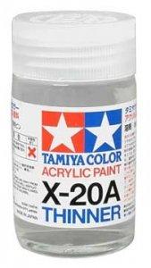 Tamiya X-20A rozcieńczalnik do farb akr. 46ml. (81030)