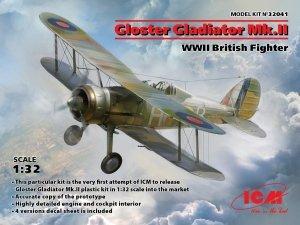 ICM 32041 Gloster Gladiator Mk.II 1/32